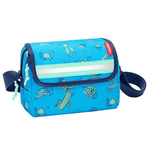 Taška přes rameno Reisenthel Kaktus, modrá | everydaybag kids