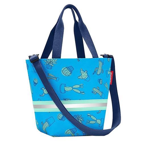Nákupní taška Reisenthel Modrý kaktus, pro děti