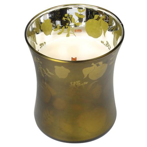 Svíčka oválná váza WoodWick Košík jablek,  255.1 g