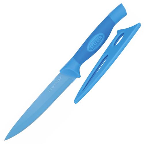 Univerzální nůž Stellar Colourtone, čepel nerezová, 12 cm, modrý