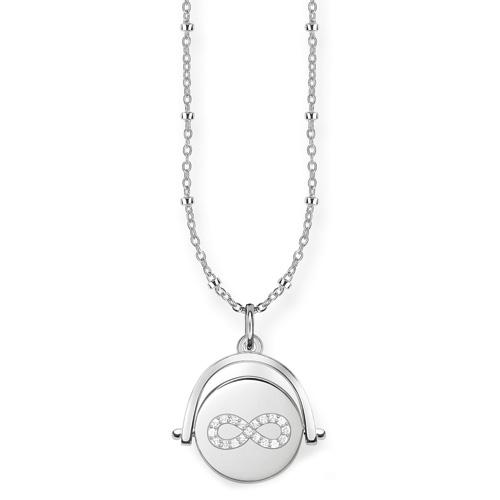 """Náhrdelník """"Nekonečno"""" Thomas Sabo D_LBKE0001-725-14-L45v, Love Bridge, 925 Sterling silver, wh"""
