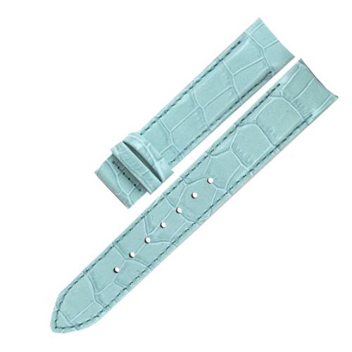 Řemínek na hodinky Thomas Sabo ZWA0096-224-17-17 mm, Watches, leather strap with alligator-