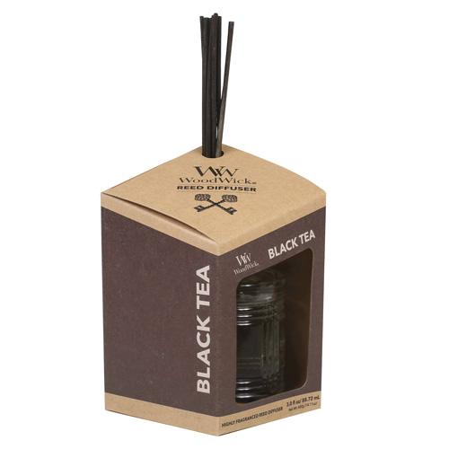 Aroma difuzér WoodWick Černý čaj, 88.72 ml