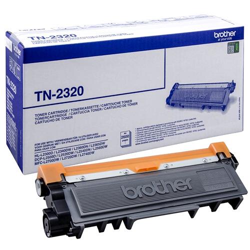Spotřeba Toner Brother TN-2320, černý, 2600 stran