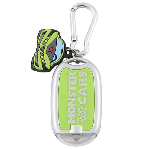 Svítilna Monster cars Zelená