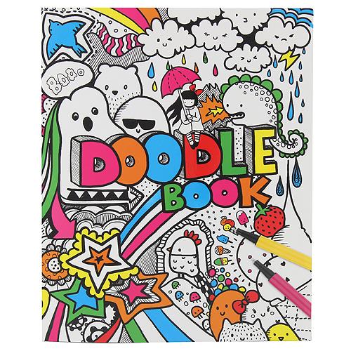 Top Model Omalovánky, kreativní sada Creative Studio Doodle Book