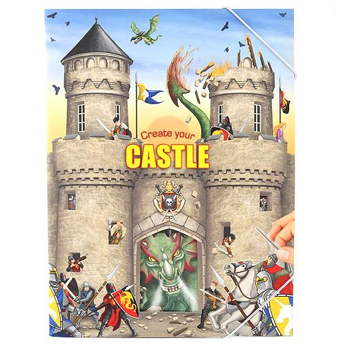 Omalovánky Create Your Vytvoř si svůj hrad