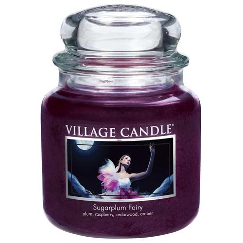 Svíčka ve skleněné dóze Village Candle Půlnoční víla, 454 g