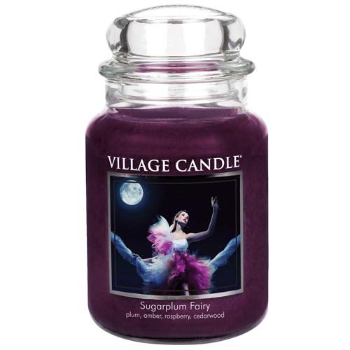 Svíčka ve skleněné dóze Village Candle Půlnoční víla, 737 g