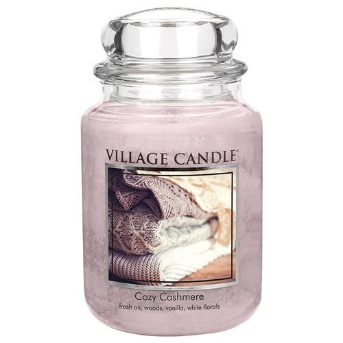 Svíčka ve skleněné dóze Village Candle Kašmírové pohlazení, 737 g