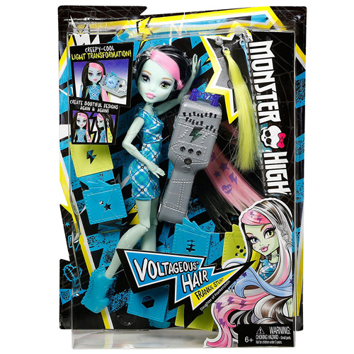Panenka Monster High Mattel Elektrizující Frankie Stein