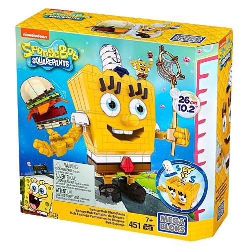 Mega Bloks stavebnice Mattel Postav si Sponge Boba