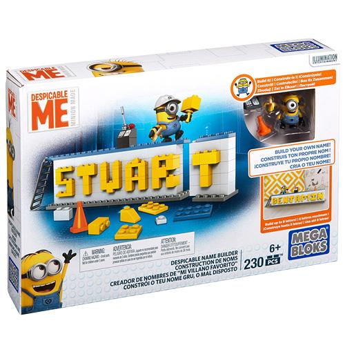 Mega Bloks stavebnice Mattel Mimoňové, Napiš něco