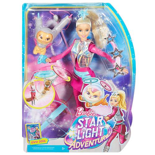 Barbie panenka Mattel Hvězdná Galaktička, s kočičkou
