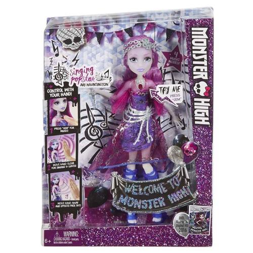 Panenka Monster High Mattel zpívající Ari Hauntington™