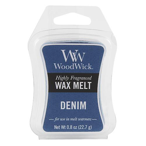 Vonný vosk WoodWick Džínovina, 22.7 g