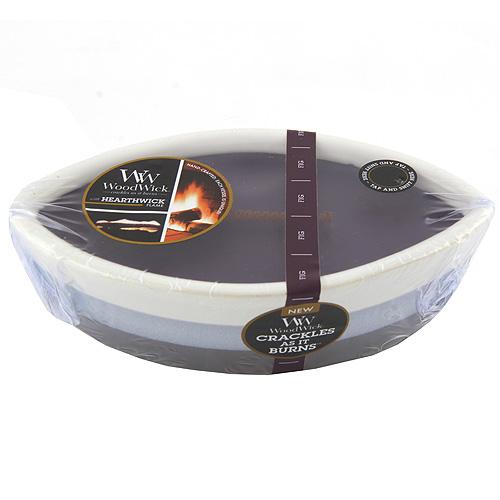 Svíčka keramická dekorativní váza WoodWick Fík, 385.6 g