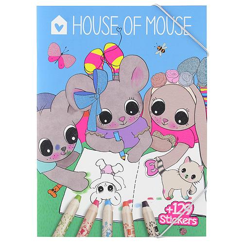 Omalovánky House of Mouse 129 samolepek
