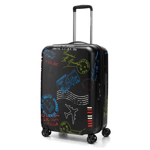 Cestovní kufr S Reisenthel speciální edice s motivem razítek