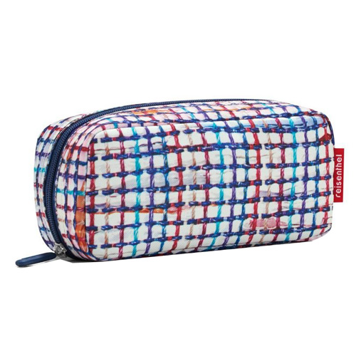 Kosmetická taška Reisenthel Bílá s barevnými proužky | multicase