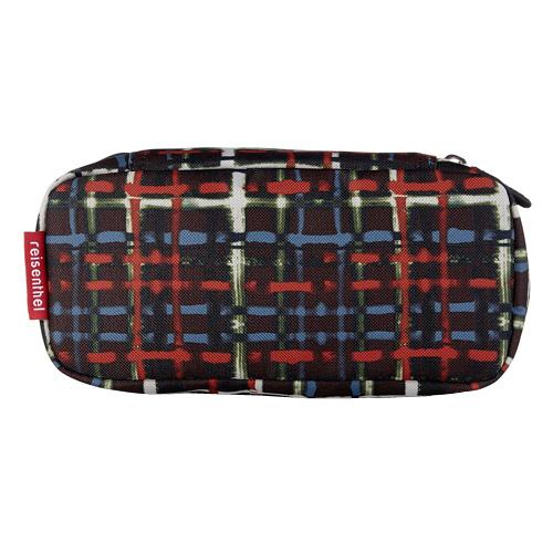 408008e358 Kosmetická taška Reisenthel Černá s barevnými proužky