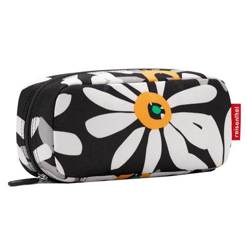 Kosmetická taška Reisenthel Černá s motivem květin | multicase