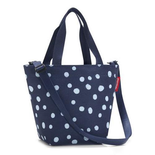 Nákupní taška Reisenthel Modrá s puntíky | shopper XS