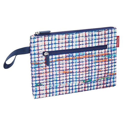 Kosmetická taška Reisenthel Bílá s barevnými proužky | case 2