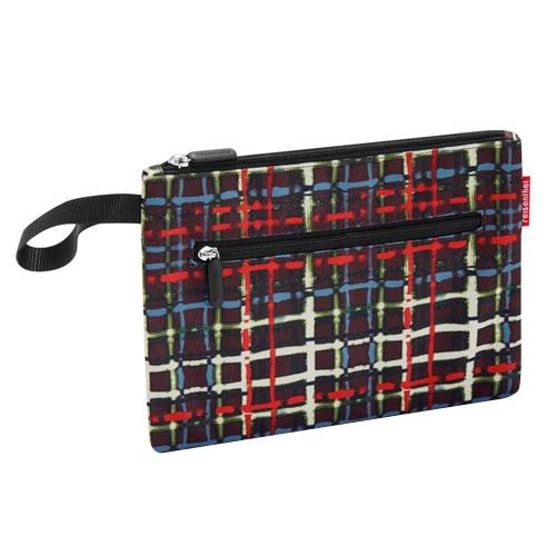Kosmetická taška Reisenthel Černá s barevnými proužky | case 2
