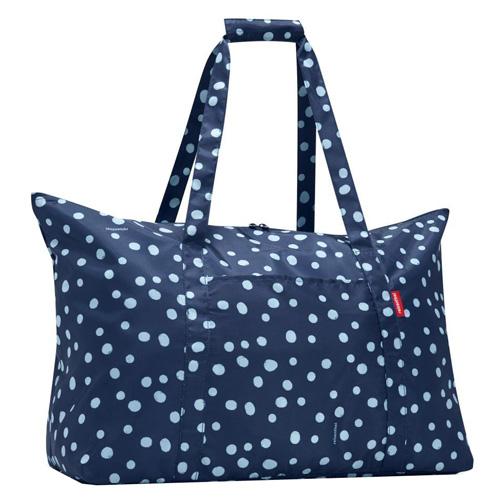 Taška cestovní Reisenthel Modrá s puntíky | mini maxi travelbag