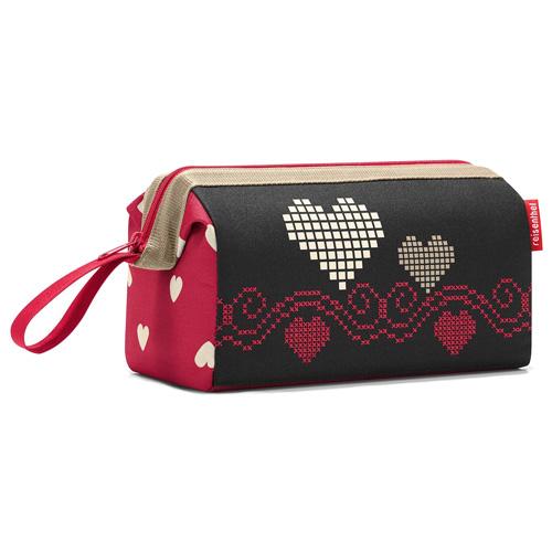 Kosmetická taška Reisenthel Srdce s motivem padesátek | travelcosmetic