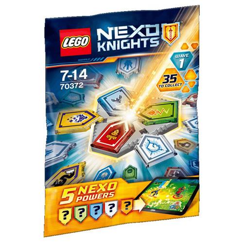 Stavebnice LEGO Nexo Knights Combo NEXO Síly/1. sada, 10 dílků