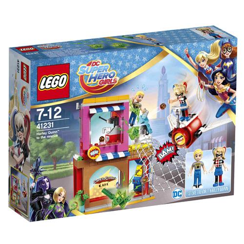 Stavebnice LEGO Super Hero Girls Harley Quinn™ spěchá na pomoc, 217 dílků