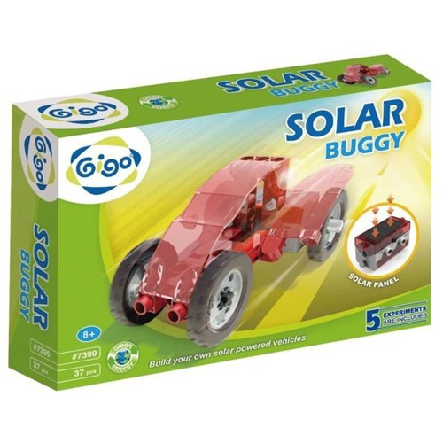 Stavebnice Solar  GIGO Buggy, 37 dílků, 5 modelů