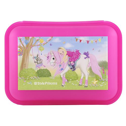 Svačinový box My Style Princess Princess Mimi na koni, růžový