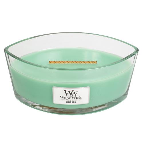 Svíčka dekorativní váza WoodWick Čistý déšť, 453.6 g