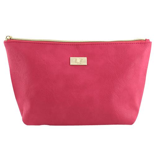 Kosmetická taška Elite Models ASST Růžová se zlatým zipem