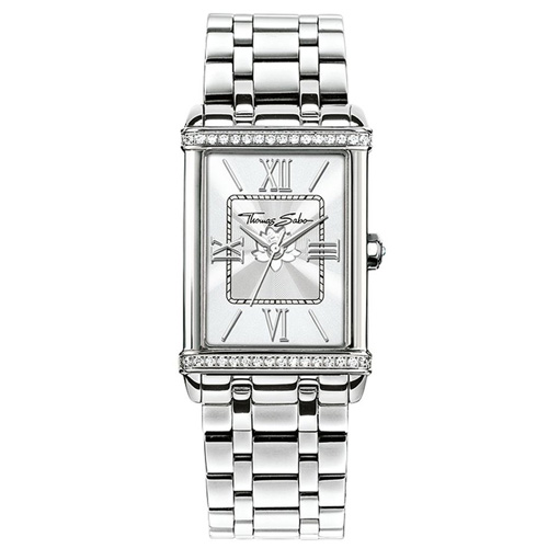 Dámské hodinky Thomas Sabo WA0231-201-201-32x25 mm, Watches, stainless steel, mineral g
