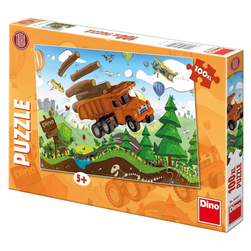 Puzzle XL Dino Tatra na cestách, 100 dílků