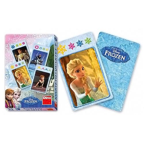 Karty Kvarteto Dino Frozen, 32 karet
