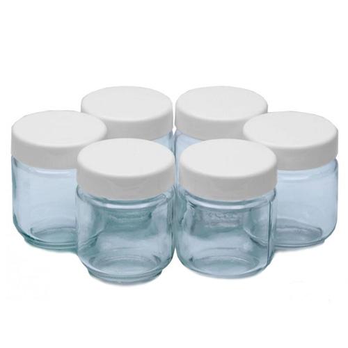 Náhradní skleničky Clatronic K jogurtovači JM 3344 EG, 6 ks, 160 ml