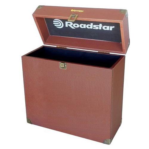 Přenosný kufřík Roadstar Storage Box-TT, 35 desek