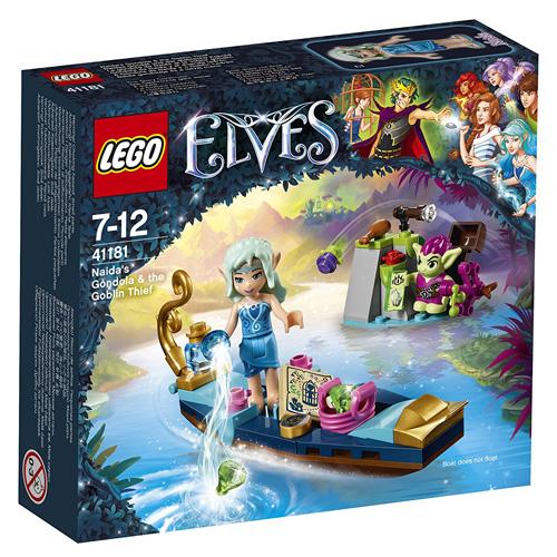Stavebnice LEGO Elves Naidina gondola a skřetí zloděj, 67 dílků