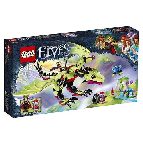 Stavebnice LEGO Elves Zlý drak Krále skřetů, 339 dílků