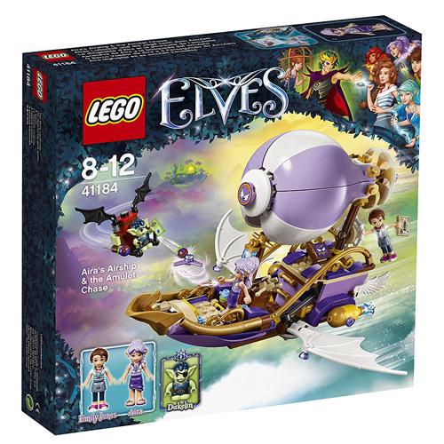Stavebnice LEGO Elves Aira a její vzducholoď, 343 dílků