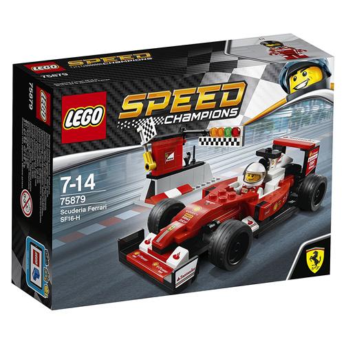 Stavebnice LEGO Speed Champions Scuderia Ferrari SF16-H, 184 dílků