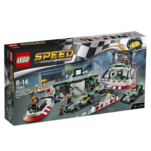 Stavebnice LEGO Speed Champions Mercedes AMG Petronas Formula One™ Team, 941 dílků