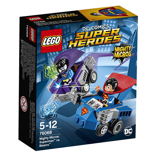 Stavebnice LEGO Super Heroes Mighty Micros: Superman vs. Bizarro, 93 dílků