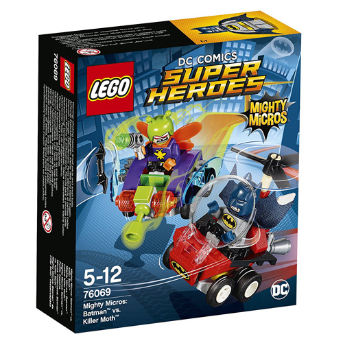 Stavebnice LEGO Super Heroes Mighty Micros: Batman vs. Killer Moth, 83 dílků