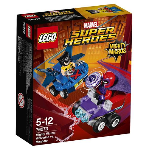 Stavebnice LEGO Super Heroes Mighty Micros: Wolverine vs. Magneto, 85 dílků